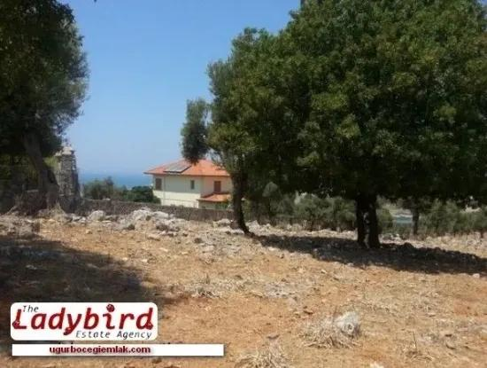 Dalaman, Incebel - 452 M2 Building Plot With Sea Views