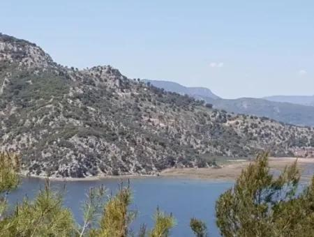 Kapukargın, Dalaman - Olive Grove With Views Of The Lake
