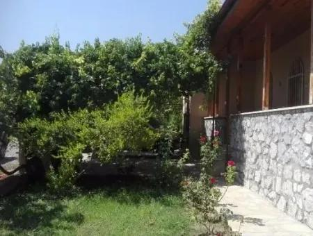 Dalaman - 1,213M2 Plot With Single Storey House